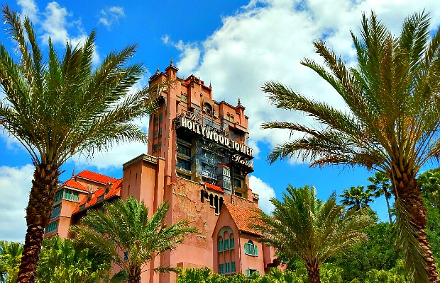 Tower of Terror at Disney's Hollywood Studios in Orlando, Florida