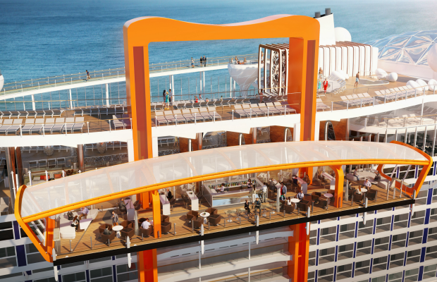 Celebrity Cruises, Celebrity Edge, Magic Carpet