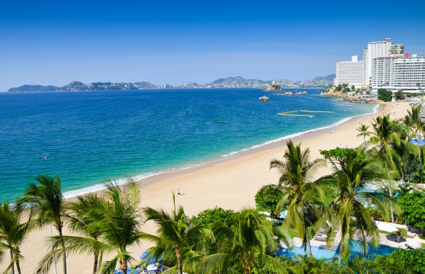 Acapulco, Mexico, beach