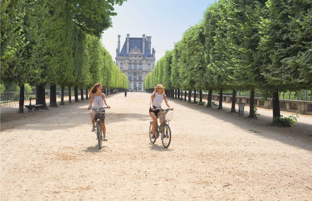 Bike excursion in Paris/U by Uniworld