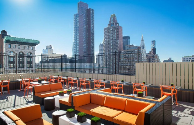 New York, Cloud Social, rooftop bar