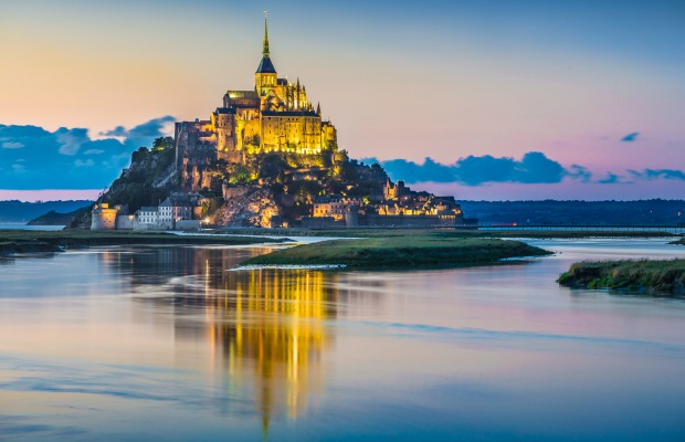 Le Mont St. MIchel, Normandy, France