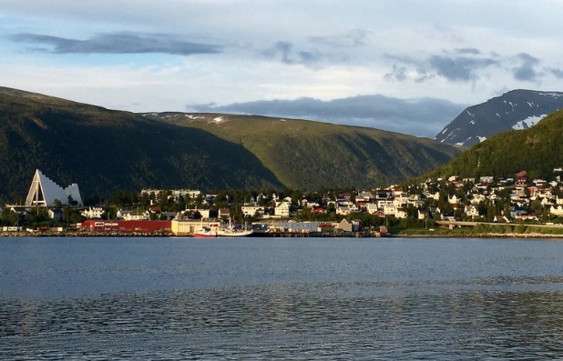 Tromso, Norway, Midnight Sun