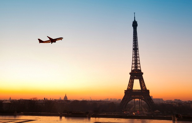 Flight over Paris/iStock