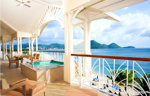 St. Lucia, Caribbean, The Landings Resort & Spa