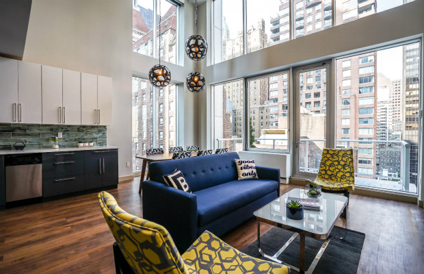 New York, New York, The Bernic Hotel Penthouse Suite